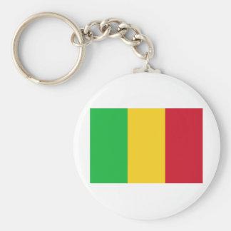 Mali Basic Round Button Key Ring