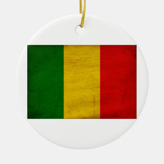 Mali Flag Christmas Ornament
