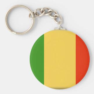 Mali Flag Keychains
