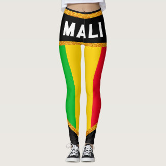 Mali Flag Leggings