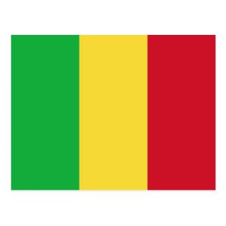 Mali Flag Postcard