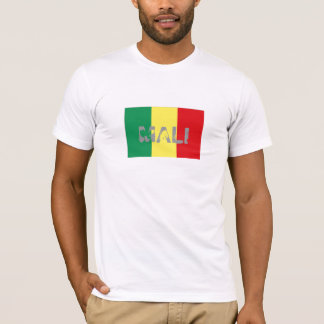 Mali flag souvenir t-shirt