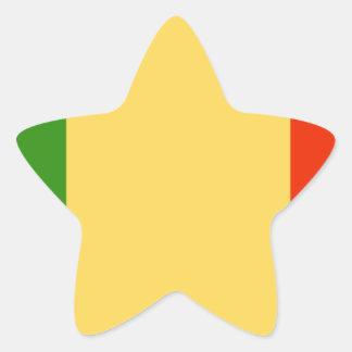 Mali Flag Stickers