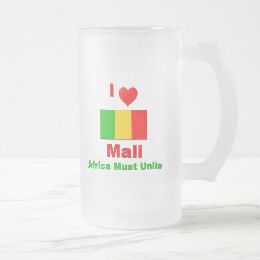 Mali Frosted Glass Mug