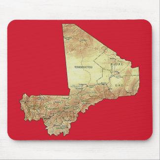 Mali Map Mousepad