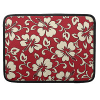 Malia Hibiscus Hawaiian MacBook Flapped Case