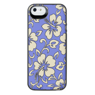 Malia Hibiscus Hawaiian Pareau Aloha Shirt Print Uncommon Power Gallery™ iPhone 5 Battery Case