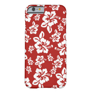 Malia Hibiscus  -  Hawaiian Pareau Print Barely There iPhone 6 Case