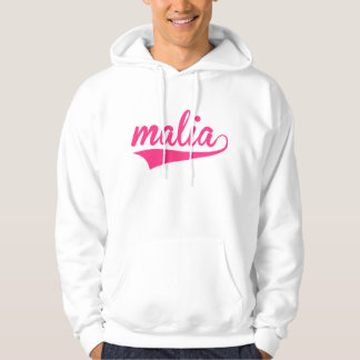 Malia Text 2 Hooded Pullover