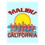 MALIBU BEACH CALIFORNIA POST CARDS