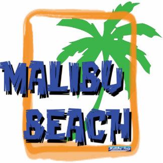 Malibu Beach Palm Tree Cut Out