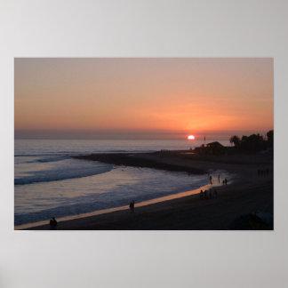 Malibu Beach Poster