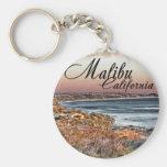 Malibu CA Keychain