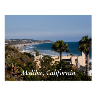 Malibu, California Postcard