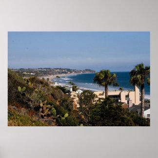 Malibu Coast Poster