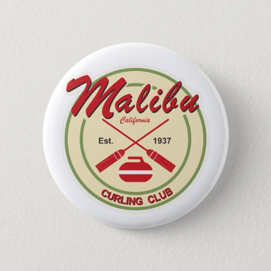 Malibu Curling Club button