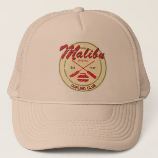 Malibu Curling Club distressed cap
