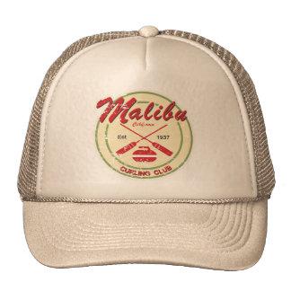 Malibu Curling Club distressed cap