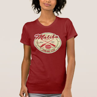 Malibu Curling Club distressed t-shirt