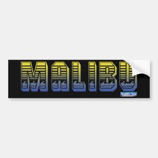 Malibu Ocean Bumper Sticker