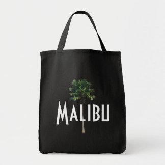 Malibu Palm Tree Grocery Tote Grocery Tote Bag