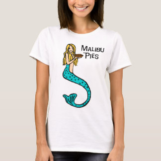 Malibu Pies Mermaid Color Crewneck Tee