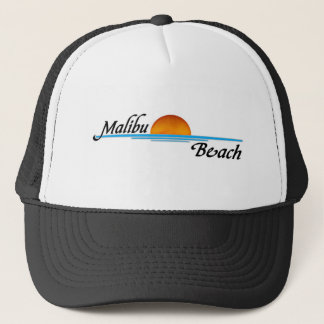 Malibu Sunset Trucker Hat