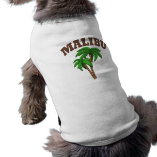 Malibu  With Palm Tree Shirt