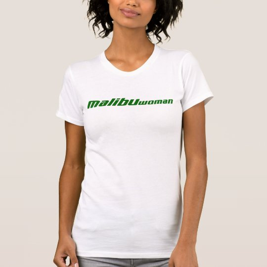 Malibu Woman Green T-Shirt