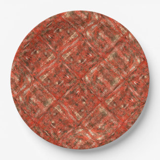 Malica - Design made from my original painting Paper Plate