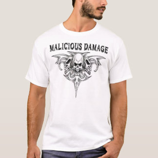 MALICIOUS DAMAGE LOGO T-SHIRT