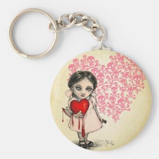 Malicious Valentine Girl Keychains