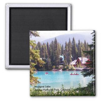Maligne Lake/Jasper National Park,Canada Square Magnet