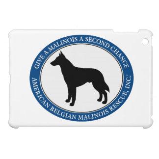 Malinois Rescue Logo, iPad Mini Cases