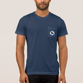 Malinois Rescue Logo, Mens Dark T-shirt, T-Shirt