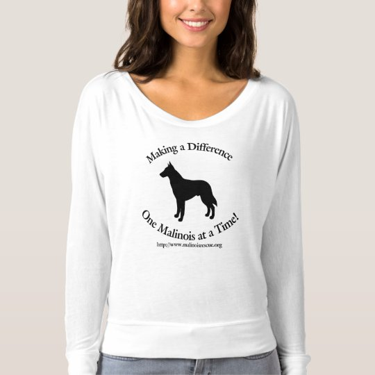 Malinois Rescue Making a Difference T-Shirt
