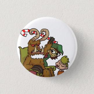 Mall Krampus 3 Cm Round Badge