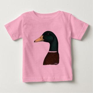 Mallard Drake Head Baby T-Shirt