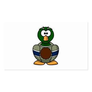 Mallard Duck Cartoon Pack Of Standard Business Cards