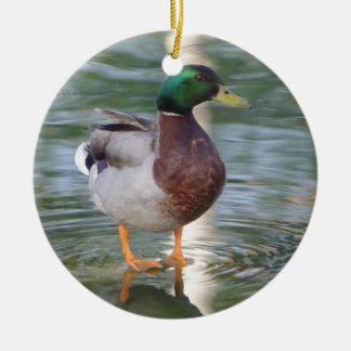 Mallard Duck Christmas Ornament