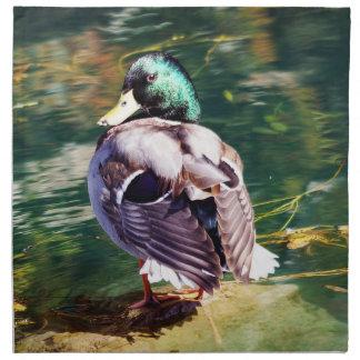 Mallard Duck Cloth Napkin
