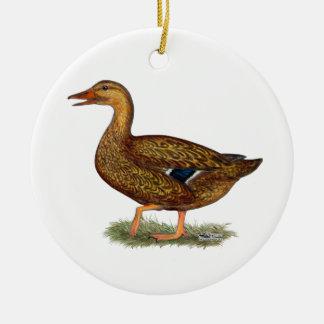 Mallard Duck Hen Christmas Ornament