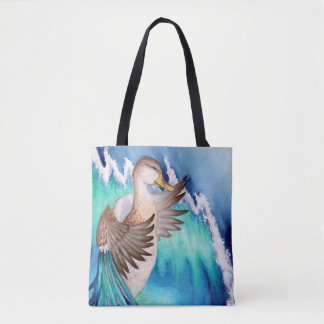 Mallard Duck Surreal Dreams Tote Bag