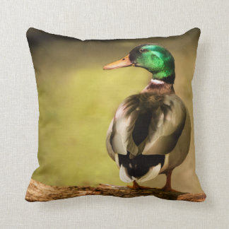 Mallard Duck Throw Cushions
