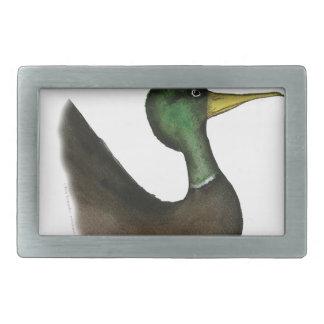 mallard duck, tony fernandes belt buckle