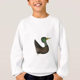 mallard duck, tony fernandes sweatshirt
