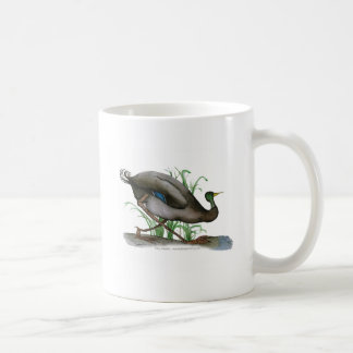 mallard duck - wild bird, tony fernandes coffee mug