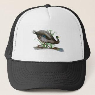 mallard duck - wild bird, tony fernandes trucker hat