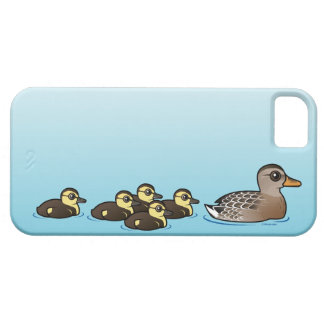 Mallard & five ducklings iPhone 5 cover