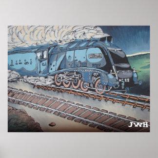 Mallard train posters